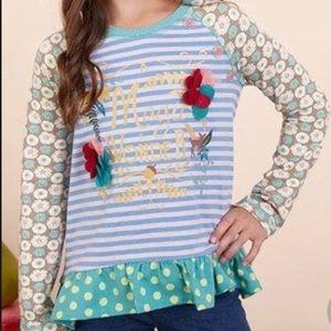 Matilda Jane | Magic Wonder Floral Ruffle Top